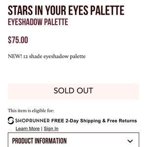 Charlotte Tilbury Makeup - ⭐️NWB⭐️Charlotte Tilbury Stars in the Eyes Palette